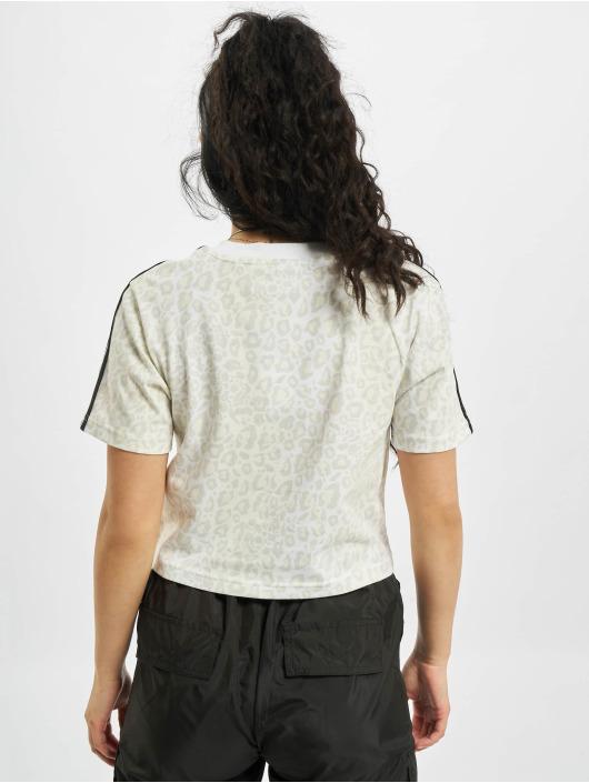 adidas Originals Tričká Cropped biela
