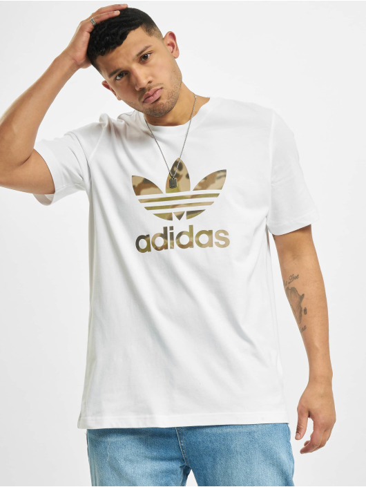 adidas Originals Tričká Camo Infill biela