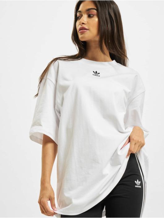 adidas Originals Tričká Essentials biela
