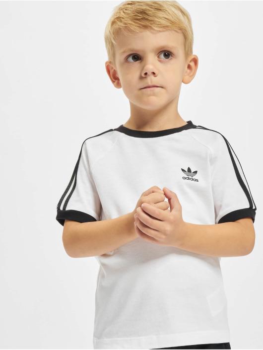 adidas Originals Tričká 3stripes biela