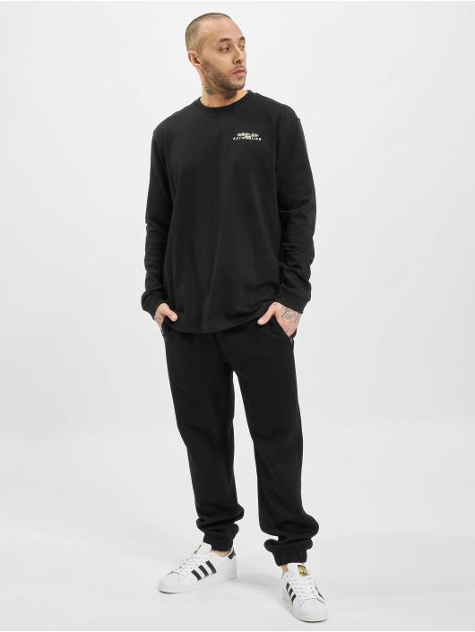 adidas Originals Tričká dlhý rukáv Adv èierna