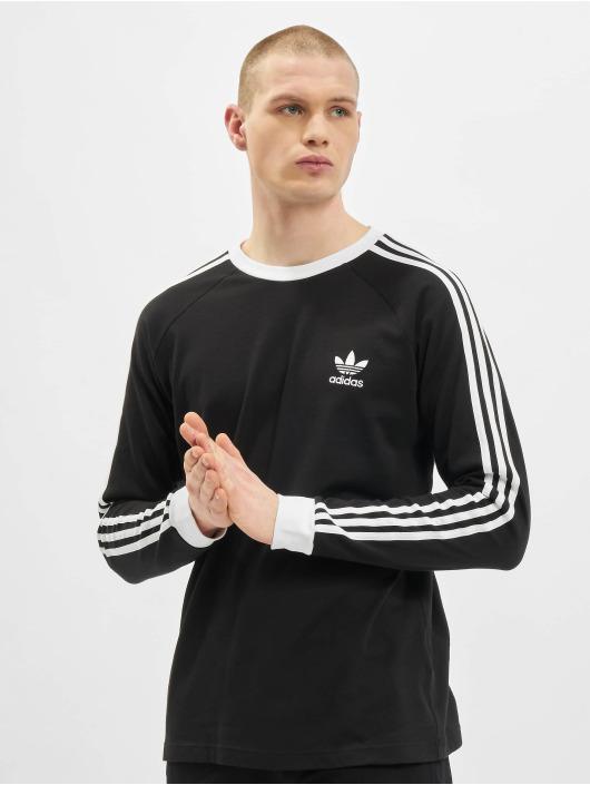 adidas Originals Tričká dlhý rukáv Originals 3-Stripes èierna