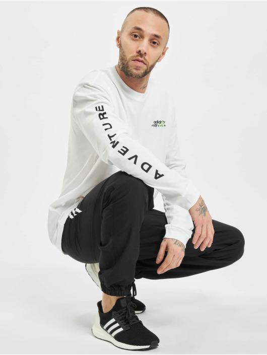 adidas Originals Tričká dlhý rukáv Adv biela