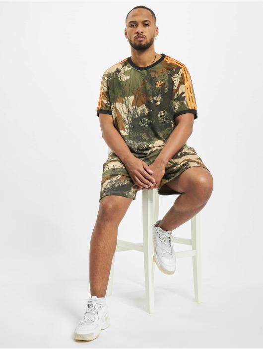 adidas Originals Tričká Camo Aop maskáèová