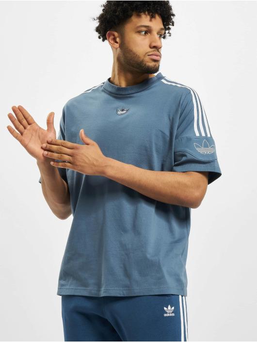 adidas Originals Tričká TRF modrá