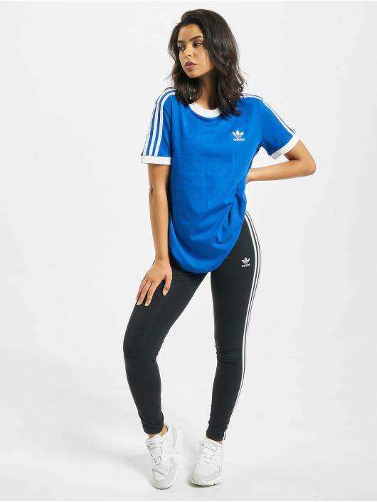 adidas Originals Tričká Originals 3 Stripes modrá