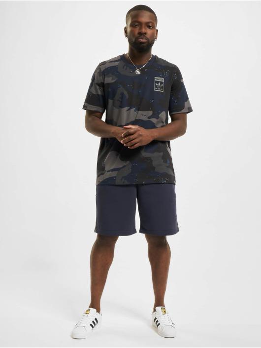 adidas Originals Tričká Camo AOP modrá