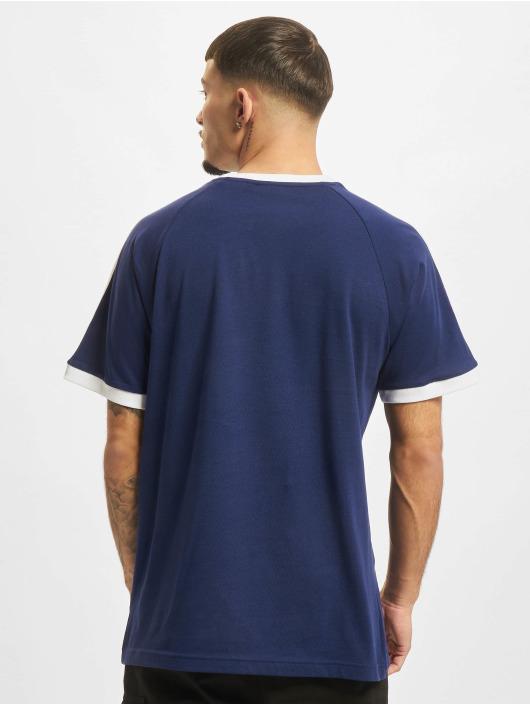 adidas Originals Tričká 3-Stripes modrá