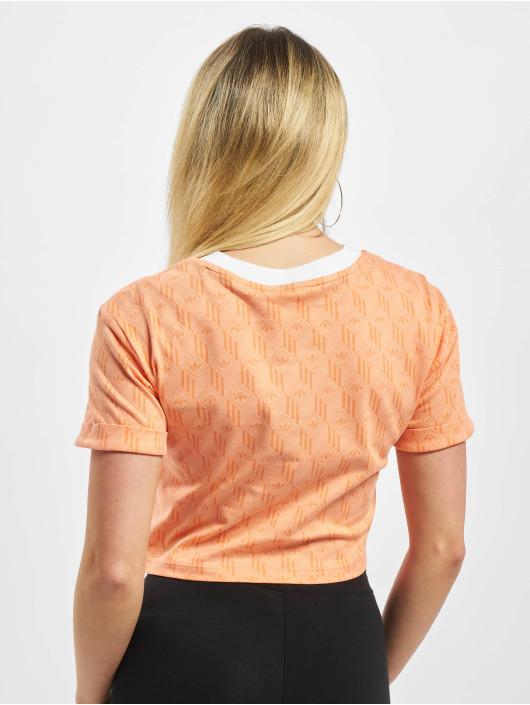adidas Originals Tričká Cropped oranžová