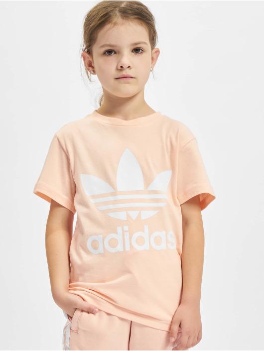 adidas Originals Tričká Trefoil oranžová