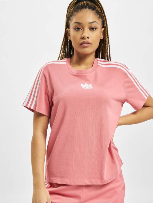 adidas Originals Tričká Loose ružová