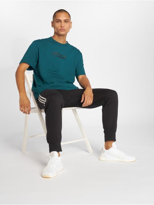 adidas originals Tričká Kaval tyrkysová