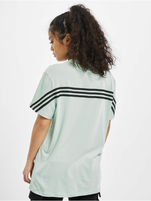 adidas Originals Tričká Muat Haves 3 Stripes zelená
