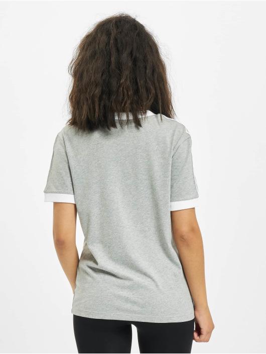 adidas Originals Trika 3 Stripes šedá