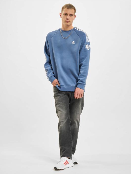 adidas Originals trui 3D TF 3 STRP CR blauw