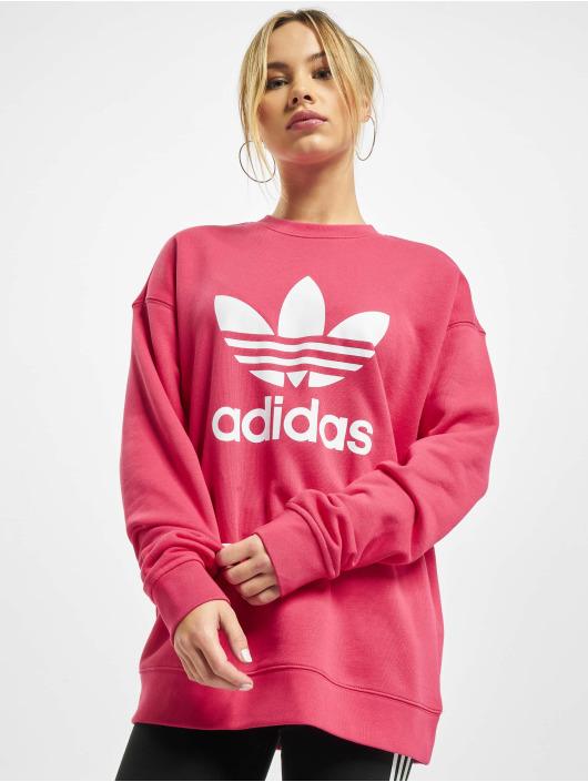 adidas Originals trui Trefoil pink