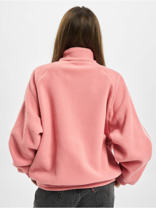 adidas Originals trui Originals Fleece Half Zip rose