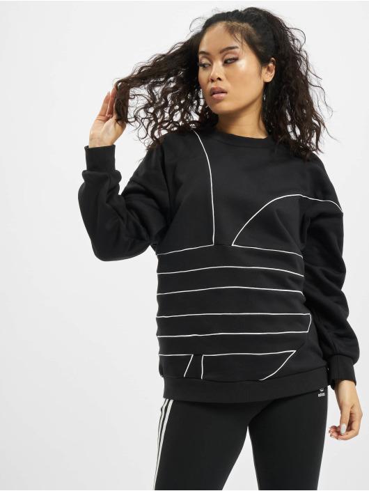 adidas Originals trui LRG Logo zwart