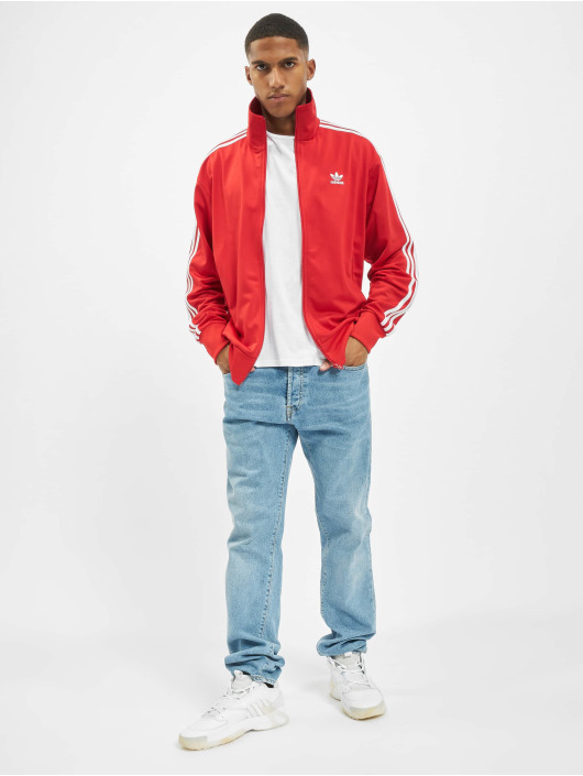 adidas Originals Übergangsjacke Firebird rot