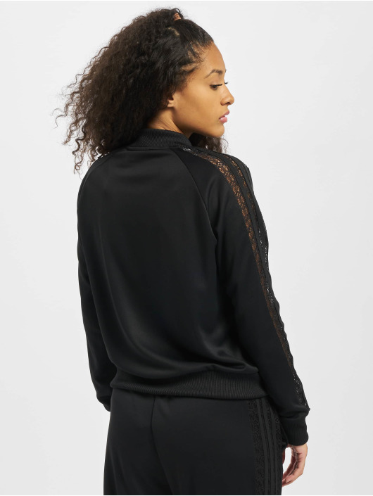 adidas Originals Übergangsjacke Lace schwarz