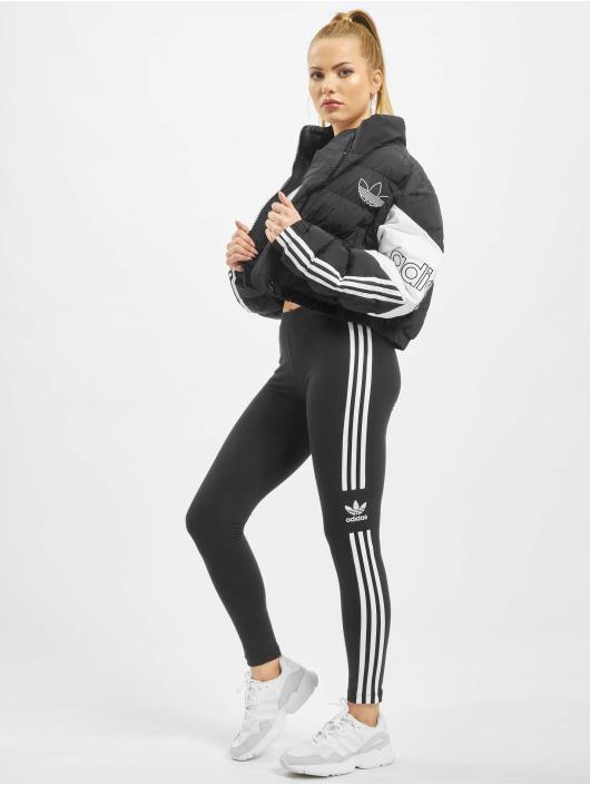 adidas Originals Vattert jakker Cropped svart