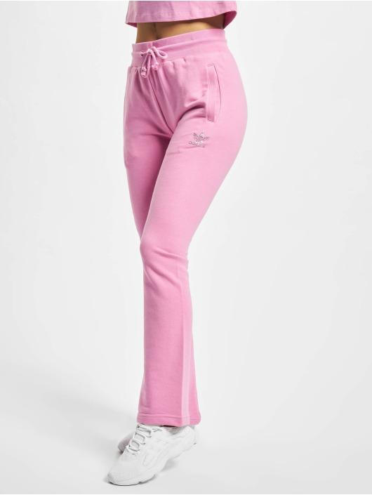 adidas Originals Verryttelyhousut Open Hem vaaleanpunainen