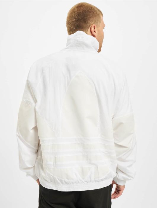 adidas Originals Veste mi-saison légère Big Trefoil blanc