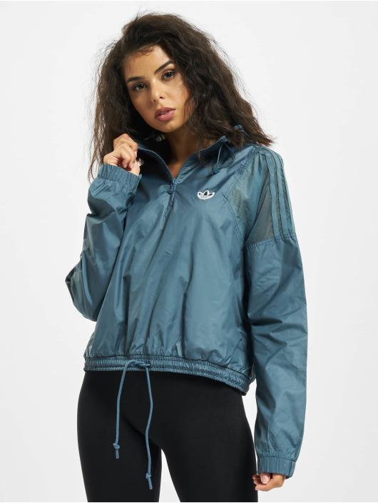 adidas Originals Veste mi-saison légère Windbreaker bleu
