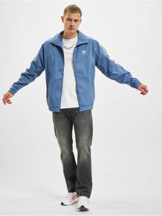 adidas Originals Veste mi-saison légère 3D TF 3 STRP TT bleu