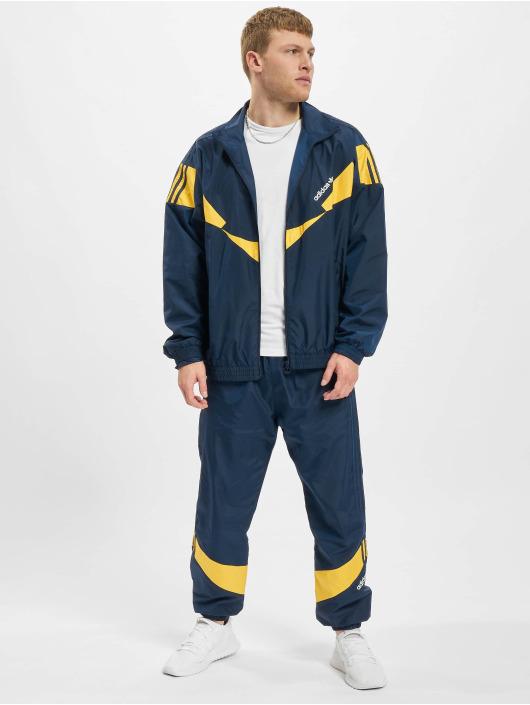 adidas Originals Veste mi-saison légère Ripstop Track bleu