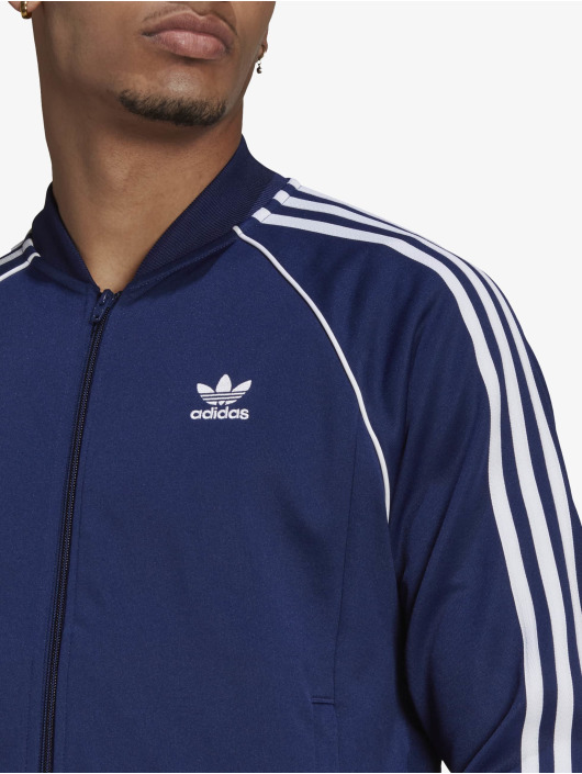 adidas Originals Veste mi-saison légère SST Blue bleu