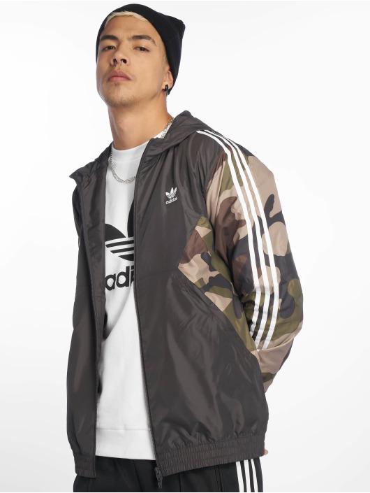 Adidas Originals Camo Windbreaker Utility Black