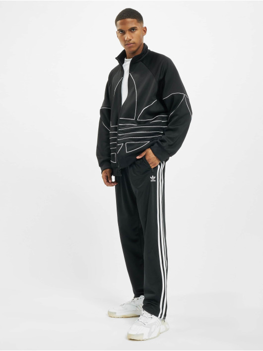 adidas Originals Veste mi-saison légère Big Trefoil Out Polytrico noir