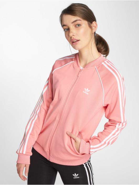 03161fa6e5 adidas originals | Sst Tt Transition rose Femme Veste mi-saison ...