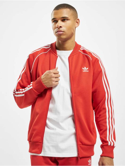 Adidas SST Track Jacket Lush Red
