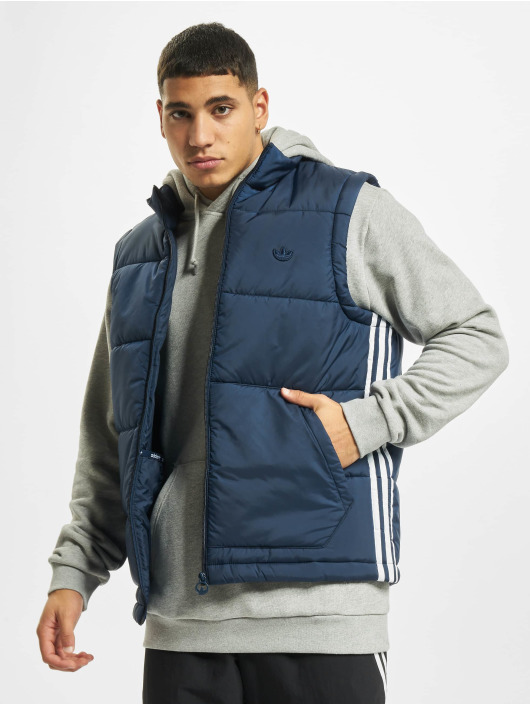 adidas Originals Veste sans manche Padded Puff Vest bleu