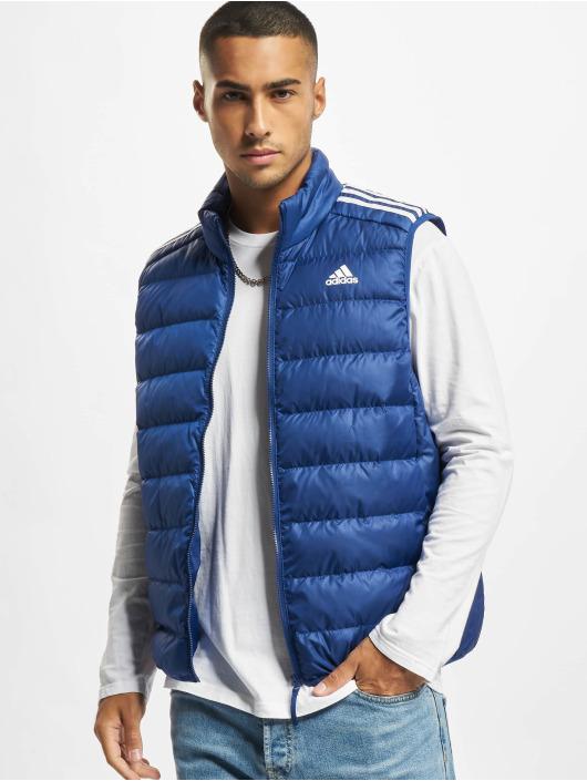 adidas Originals Veste sans manche ESS Down bleu