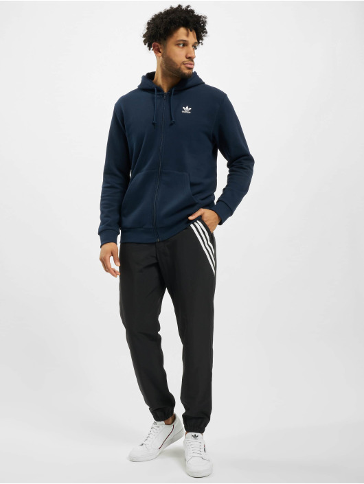 adidas Originals Vetoketjuhupparit Essential sininen