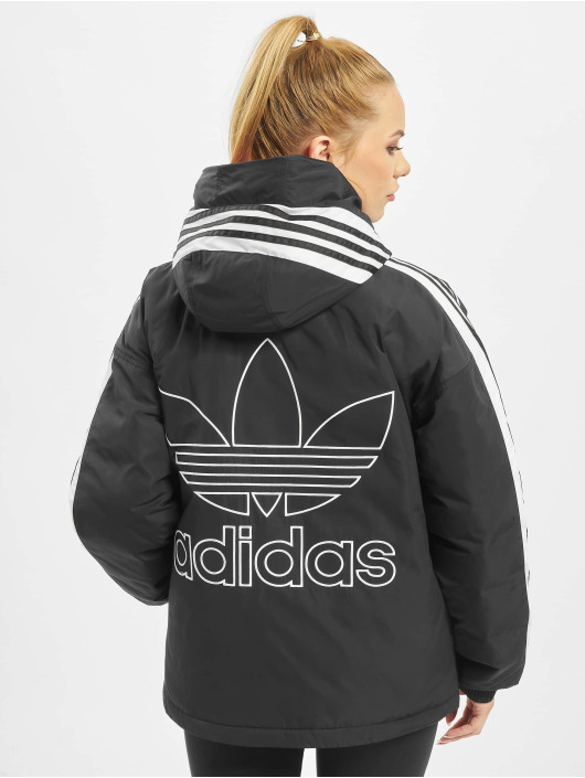 adidas Originals Vinterjakke Short Syn Down svart