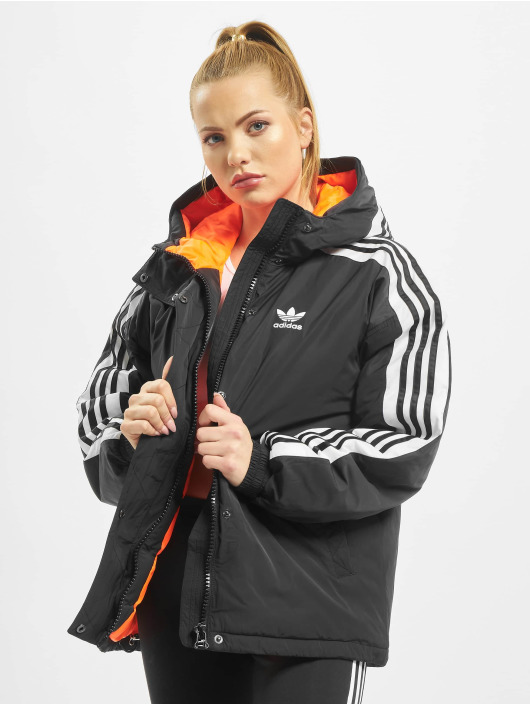 adidas Originals winterjas Short Syn Down zwart