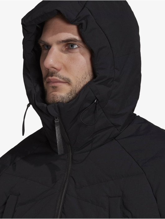 adidas Originals winterjas Big Baffle zwart