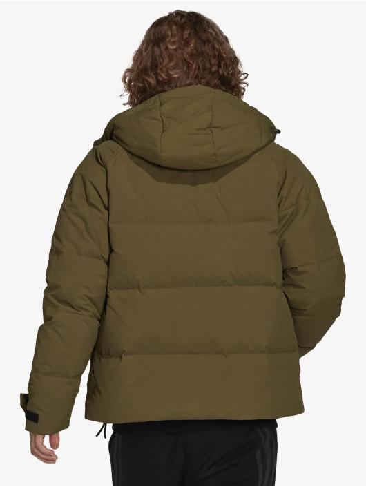adidas Originals Zimní bundy Big Baffle zelený