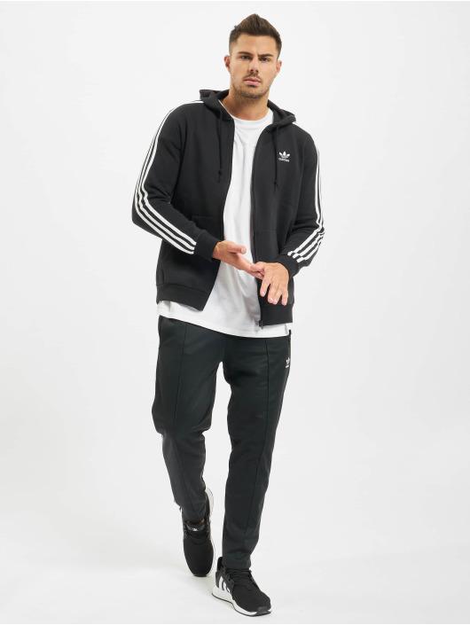 adidas Originals Zip Hoodie 3-Stripes Full èierna