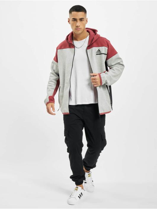 adidas Originals Zip Hoodie ZNE šedá