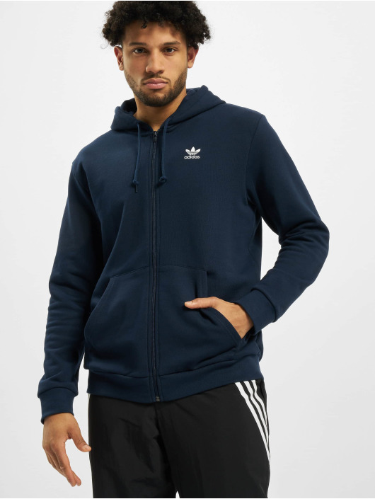adidas Originals Zip Hoodie Essential синий