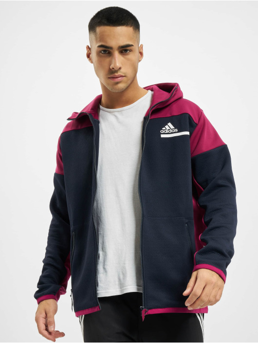 adidas Originals Zip Hoodie Zne Aerordy синий