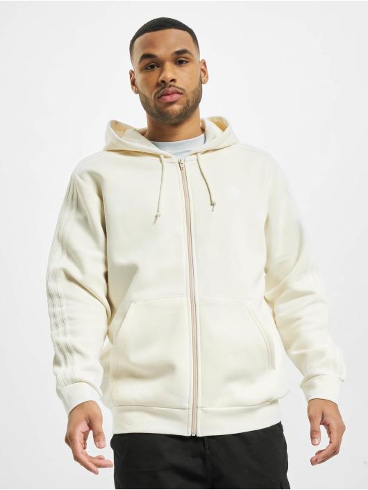 adidas Originals Zip Hoodie 3-Stripes béžová