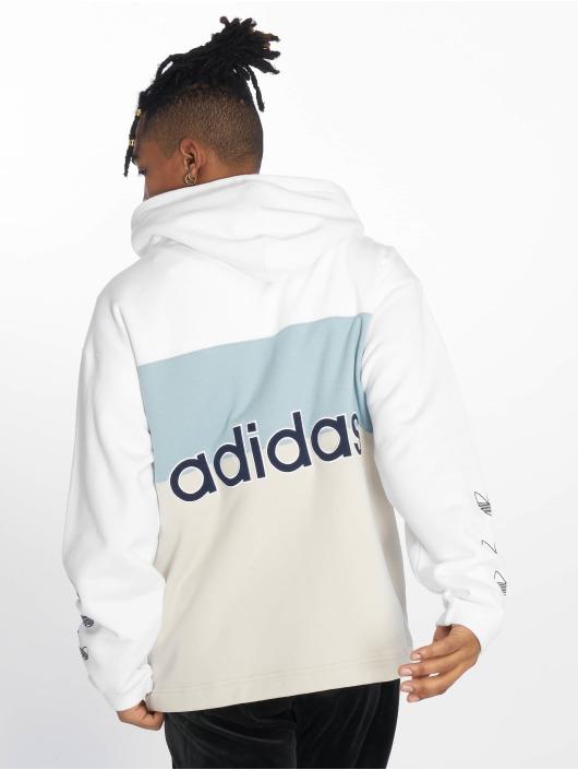 adidas Originals Zip Hoodie Full Zip bialy