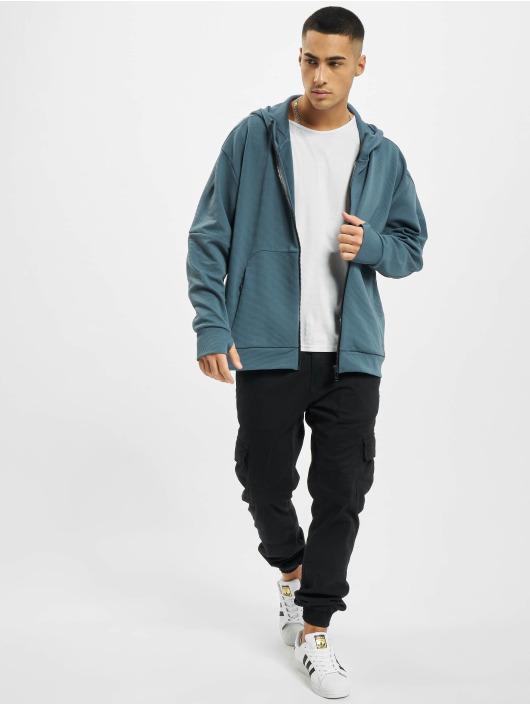 adidas Originals Zip Hoodie MHS Aero blå