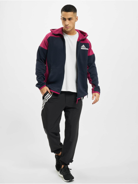 adidas Originals Zip Hoodie Zne Aerordy blue